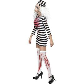 CHNS-Women-Halloween-Horror-Zombie-Bloody-Clothes-Prisoners-Cosplay-Costume-Dress-0-0