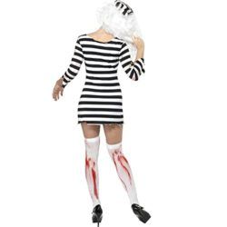 CHNS-Women-Halloween-Horror-Zombie-Bloody-Clothes-Prisoners-Cosplay-Costume-Dress-0-1