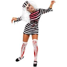 CHNS-Women-Halloween-Horror-Zombie-Bloody-Clothes-Prisoners-Cosplay-Costume-Dress-0