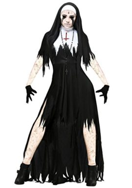 COMVIP-Halloween-Gothic-Dreadful-Bloody-Cosplay-Hat-Dress-Costume-0