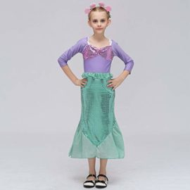 COSAUG-Little-Mermaid-Costume-Christmas-Dress-up-for-Kids-0-1