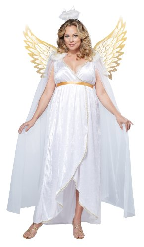 California Costumes Women's Guardian Angel Plus