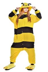 Chic-Adult-Unisex-Bee-Onesie-Pajama-Costume-0-0