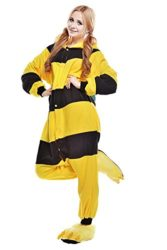 Chic-Adult-Unisex-Bee-Onesie-Pajama-Costume-0-1