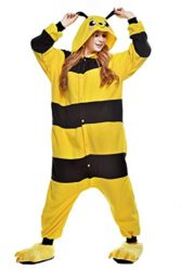 Chic-Adult-Unisex-Bee-Onesie-Pajama-Costume-0