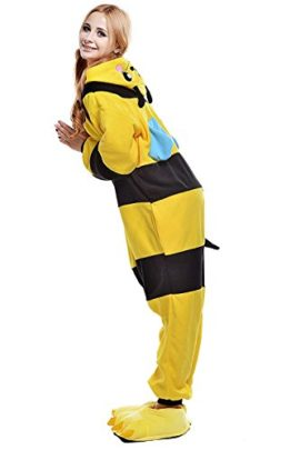 Chic-Adult-Unisex-Bee-Onesie-Pajama-Costume-0-2