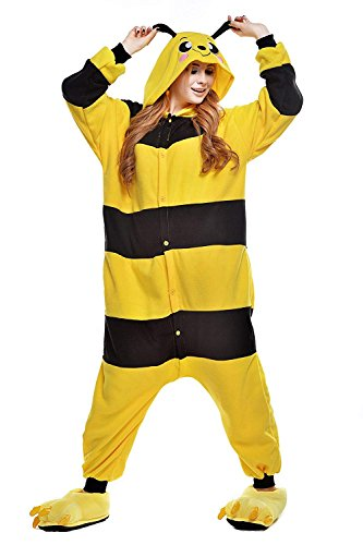 Chic Adult Unisex Bee Onesie Pajama Costume