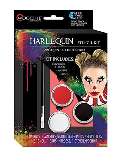 Cinema Secrets Woochie Stencil Kit – Professional Quality Halloween Costume Makeup