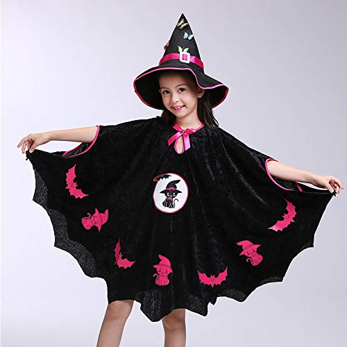 Clearance-SaleToimoth-Kids-Baby-Girls-Halloween-Costume-Dress-Party-CloakHat-OutfitPumpkin-Bag-0-1