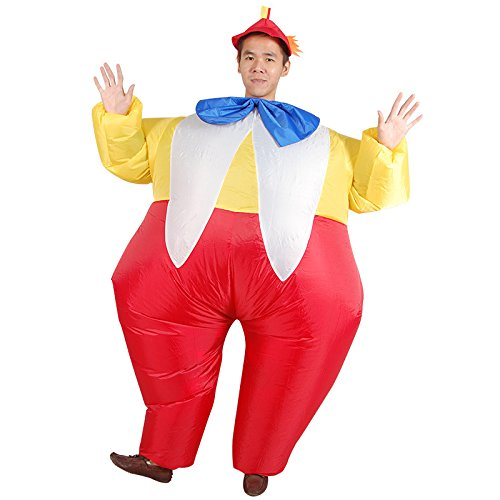Costume-Inflatable-Clowns-Outfit-Blow-up-Adult-Halloween-Fancy-Dress-Suit-0-0