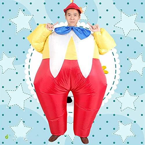 Costume-Inflatable-Clowns-Outfit-Blow-up-Adult-Halloween-Fancy-Dress-Suit-0-2