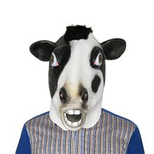 Cow-Mask-Latex-Realistic-Funny-Halloween-Animal-Costume-Cosplay-Headgear-0