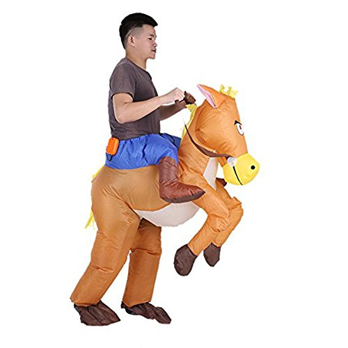 Cowboy-Horse-Blow-Up-Inflatable-Costume-Halloween-Party-Fancy-Dress-Funny-Suit-0