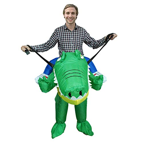 Crocodile-Riding-Inflatable-Costume-Halloween-Carnival-Funny-Cosplay-Toy-Comic-Con-Jumpsuit-0-3