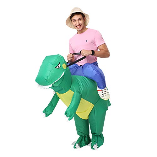 Decalare Unicorn/Dinosaur Inflatable Costume,Halloween Party Blow up Costumes for Adult/Kids