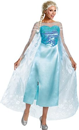 Disguise-Costumes-Womens-Frozen-Elsa-Adult-Deluxe-Blue-18-20-0
