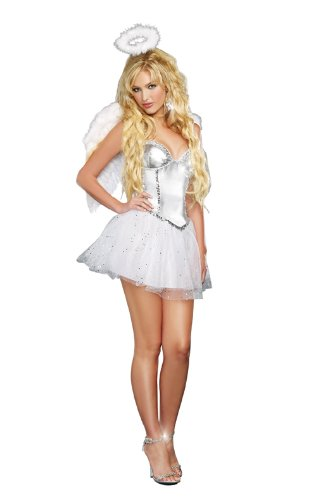 Dreamgirl Women's Angel Baby Costume