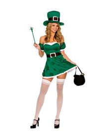 Dreamgirl-Womens-Irish-Leprechaun-Adult-Costume-0