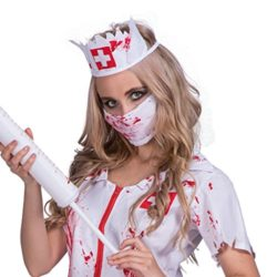 DressVoguer-Womens-Zombie-Nurse-Costume-Halloween-Horror-Bloody-Ghost-Cosplay-for-Adult-0-2