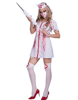 DressVoguer-Womens-Zombie-Nurse-Costume-Halloween-Horror-Bloody-Ghost-Cosplay-for-Adult-0