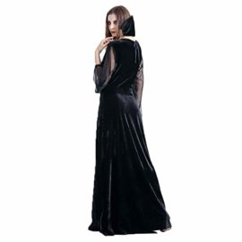 ENQI-TRADE-Womens-Halloween-Ghost-Witch-Hooded-Costume-Cloak-Dress-Outfit-Black-0-3