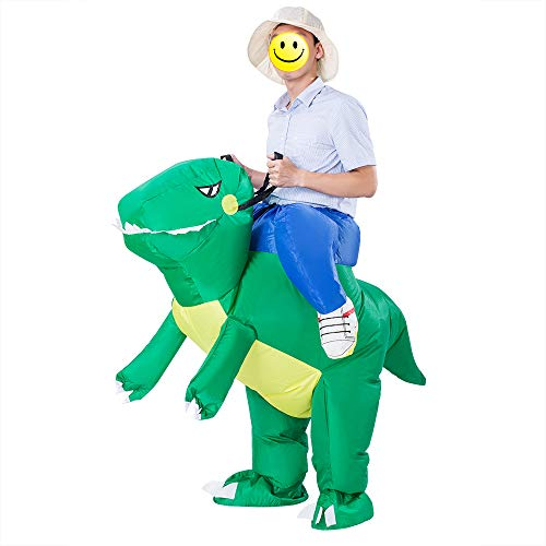 ESHIRYU-Halloween-Inflatable-Dinosaur-Costume-T-Rex-Fancy-Inflatable-Costumes-for-Adults-MenWomen-0
