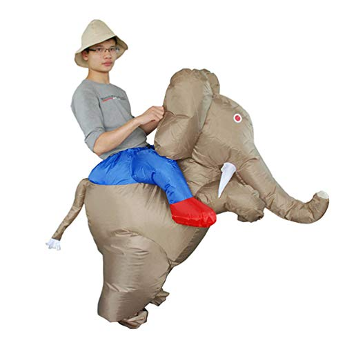 Elephant-Riding-Inflatable-Costume-Halloween-Carnival-Funny-Cosplay-Toy-Comic-Con-Jumpsuit-0
