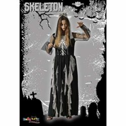 EraSooky-Women-Skeleton-Zombie-Bride-Costumes-Halloween-Cosplay-Fancy-Party-Dress-with-Hair-Band-0-0