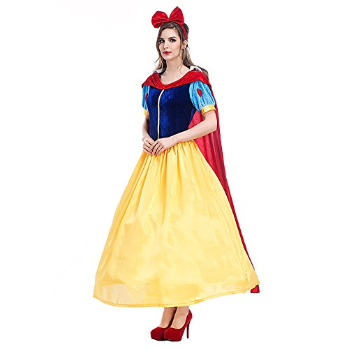 Es-Unico-Womens-Snow-White-Costume-Halloween-Princess-Dress-Costume-for-Adults-0-2