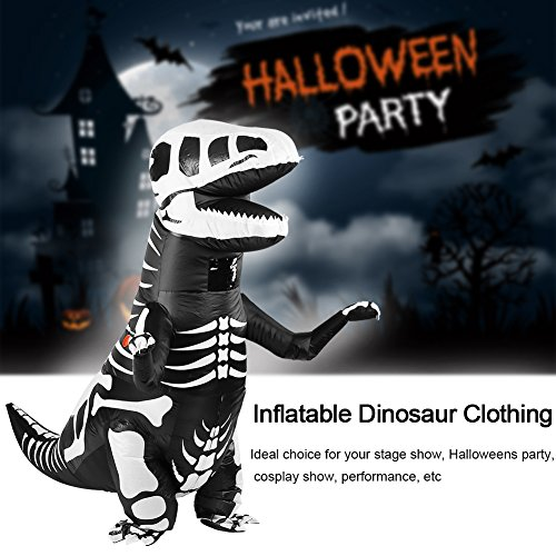 FTVOGUE-Adult-Dinosaur-Inflatable-Costume-Tyrannosaurus-Cosplay-Fancy-Toy-Costume-for-Halloweens-0-4