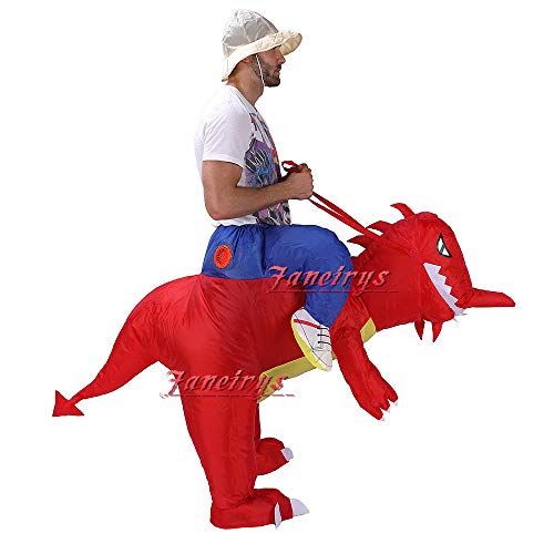 Faneirys-Inflatable-Dinosaur-T-REX-Costume-Inflatable-Costumes-for-Adults-Halloween-Costume-Blow-up-Costume-red-0-0