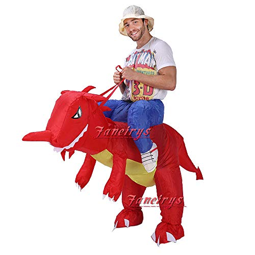 Faneirys-Inflatable-Dinosaur-T-REX-Costume-Inflatable-Costumes-for-Adults-Halloween-Costume-Blow-up-Costume-red-0