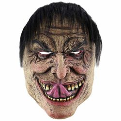 Feoya-Halloween-Ghost-Mask-Novelty-Costume-Party-Cosplay-Scary-Evil-Clown-Mask-0-0