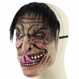 Feoya-Halloween-Ghost-Mask-Novelty-Costume-Party-Cosplay-Scary-Evil-Clown-Mask-0-1