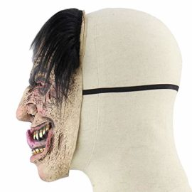 Feoya-Halloween-Ghost-Mask-Novelty-Costume-Party-Cosplay-Scary-Evil-Clown-Mask-0-2