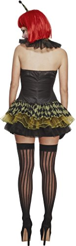 Fever-Womens-Creepy-Zombie-Clown-with-Dress-Hat-Cuffs-and-Collar-0-0