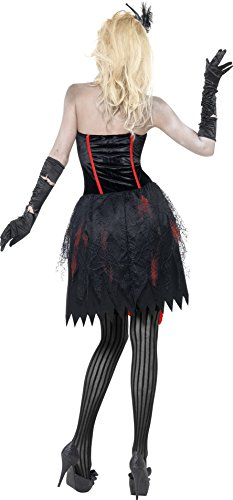 Fever-Womens-Zombie-Burlesque-Costume-Dress-with-Blood-0-0