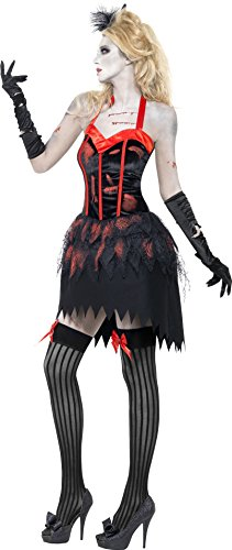 Fever-Womens-Zombie-Burlesque-Costume-Dress-with-Blood-0-1