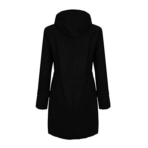 Forthery-Clearance-Womens-Long-Jacket-Parka-Coat-Double-Breasted-Trench-Coat-Overwear-0-0