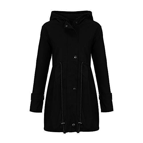 Forthery-Clearance-Womens-Long-Jacket-Parka-Coat-Double-Breasted-Trench-Coat-Overwear-0