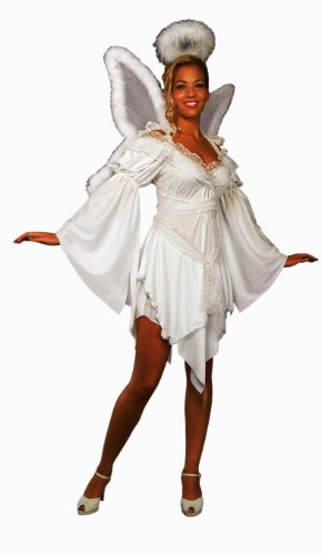 Forum Heavenly Angel Halo and Dress Costume