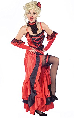 Forum Novelties Women's Red Hot Saloon Girl Costume