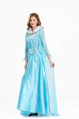 Frozen-Elsa-Princess-Cosplay-Dress-Female-Halloween-Costume-Silk-Party-Costume-Light-Blue-Color-0-0
