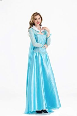 Frozen-Elsa-Princess-Cosplay-Dress-Female-Halloween-Costume-Silk-Party-Costume-Light-Blue-Color-0-1