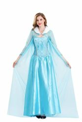 Frozen-Elsa-Princess-Cosplay-Dress-Female-Halloween-Costume-Silk-Party-Costume-Light-Blue-Color-0