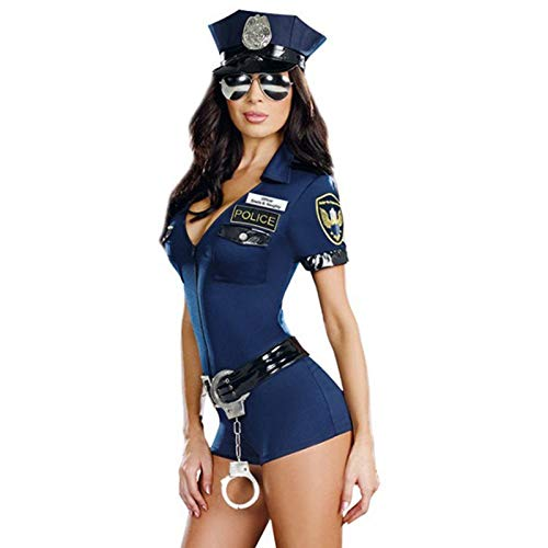 Gatton-Women-Police-Officer-Cop-Adult-Cosplay-Halloween-Costume-Complete-Outfit-0-2