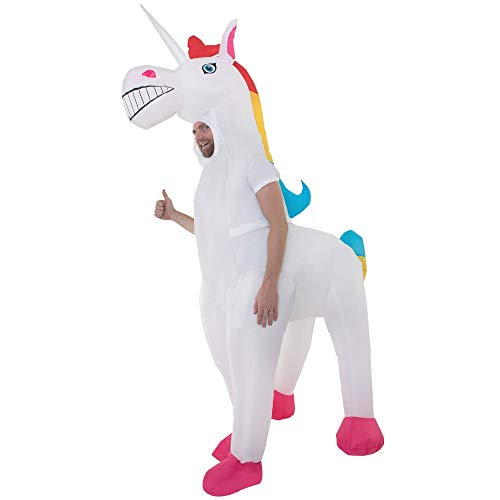 Giant-Unicorn-Inflatable-Costumes-Adult-Halloween-Fancy-Dress-Funny-Scary-0