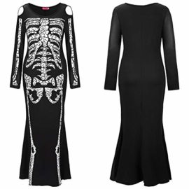 Greenis-Im-Invisible-Costume-Stretch-Women-Skeleton-Dress-for-Halloween-Cosplay-0-0
