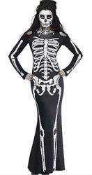 Greenis-Im-Invisible-Costume-Stretch-Women-Skeleton-Dress-for-Halloween-Cosplay-0