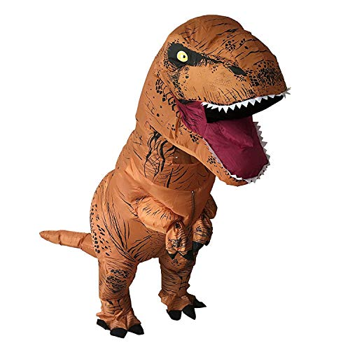 HEYMA-T-Rex-Costume-Inflatable-Dinosaur-Costume-for-Adult-Halloween-Inflatable-Costume-0